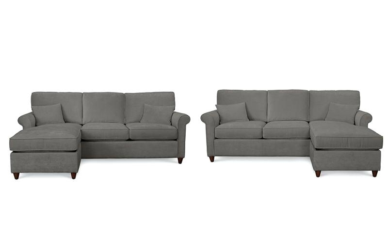 Famous Keegan Sofa W Reversible Chaise (View 14 of 15)