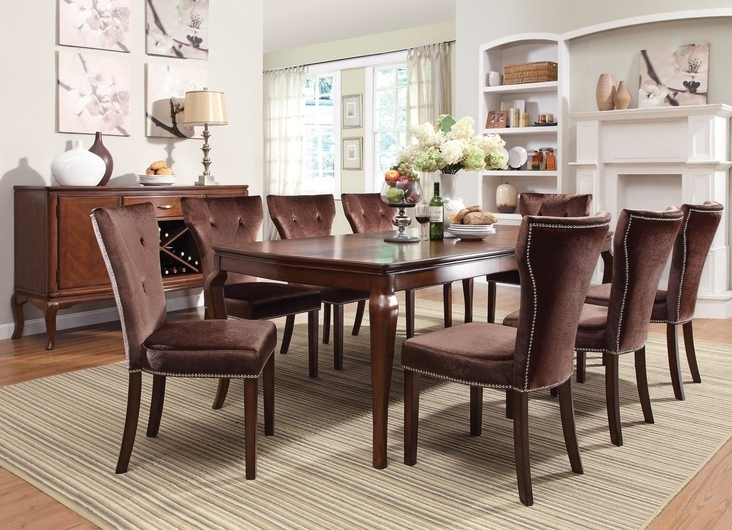 Famous Kingston Dining Tables And Chairs Intended For Acme Furniture Kingston Casual Dining Room Collectiondining (View 6 of 20)