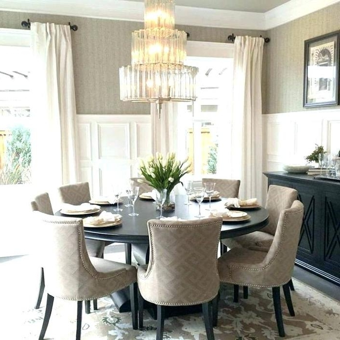 Famous Large Circular Dining Tables Intended For  (View 4 of 20)