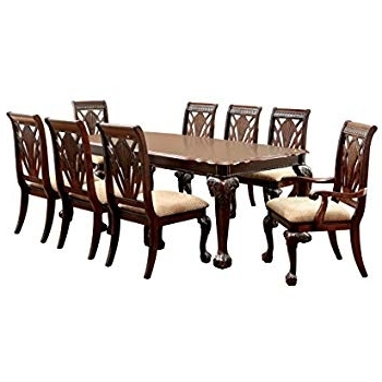 Famous Market 6 Piece Dining Sets With Host And Side Chairs In Amazon – 7Pc Formal Dining Table & Chairs Set With Claw Design (View 2 of 20)