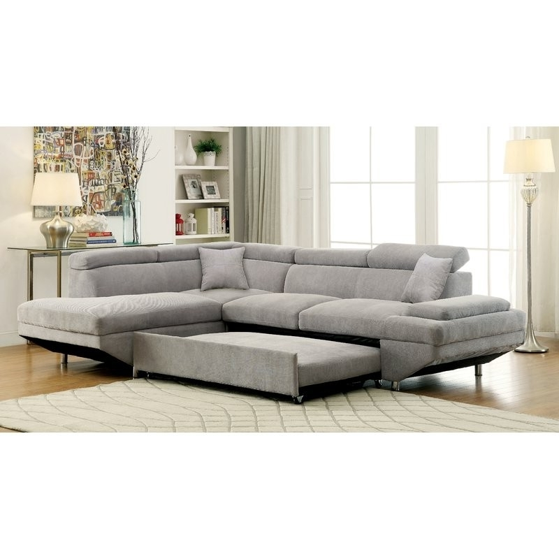 Famous Sectional With Sleeper Aspen 2 Piece W Laf Chaise Living Spaces Pertaining To Aspen 2 Piece Sectionals With Laf Chaise (View 5 of 15)