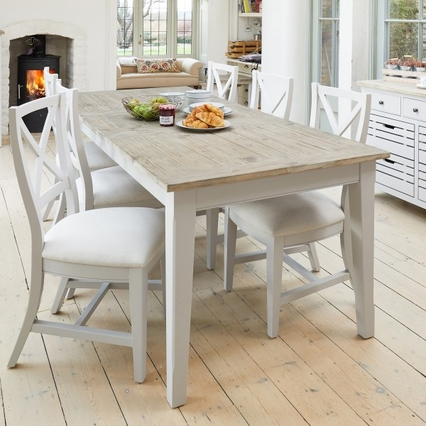 Famous Signature Grey Extending Dining Table With Six Chairs With Dining Tables And Six Chairs (View 11 of 20)