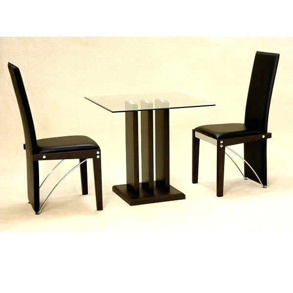 Famous Small Glass Dining Table For 2 – Supplysource Within Small Dining Tables For  (View 5 of 20)