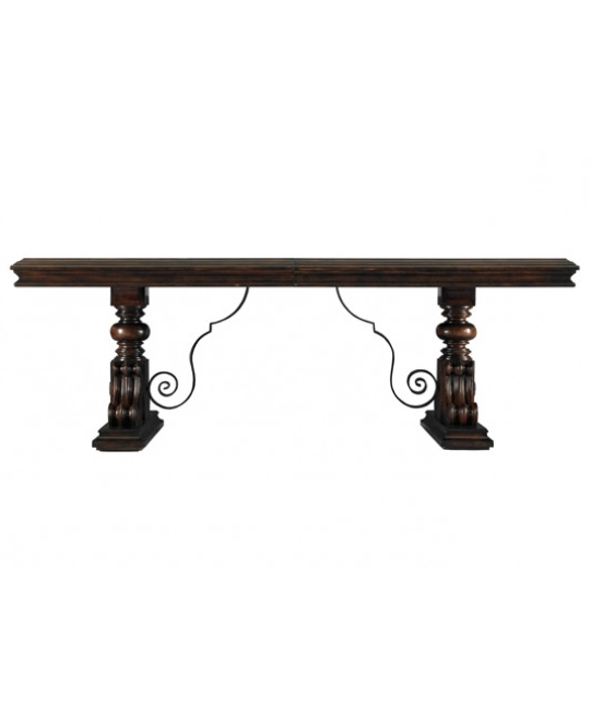 Famous Trestle Dining Tables – Dining Tables – Dining Room – Furniture Pertaining To Palazzo Rectangle Dining Tables (View 8 of 20)