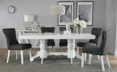 Famous White Dining Suites Pertaining To Dining Table & 6 Chairs – 6 Seater Dining Tables & Chairs (View 8 of 20)
