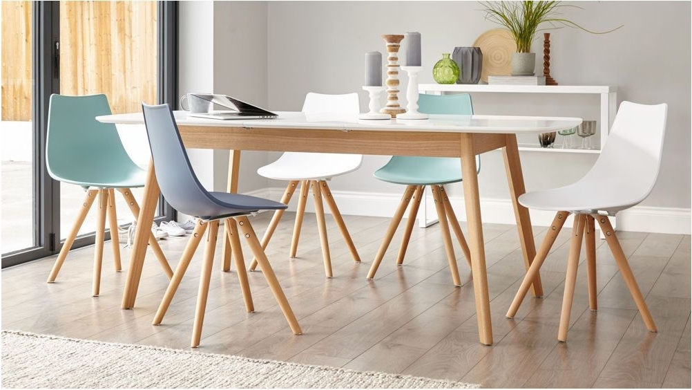 Famous White Dining Tables 8 Seater In Incredible The Most White Oak Table 8 Seater Extending Dining Table (View 4 of 20)