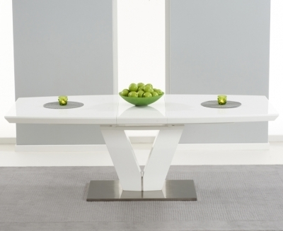 Famous White Dining Tables, White High Gloss Dining Tables For Sale Pertaining To High Gloss Round Dining Tables (View 12 of 20)