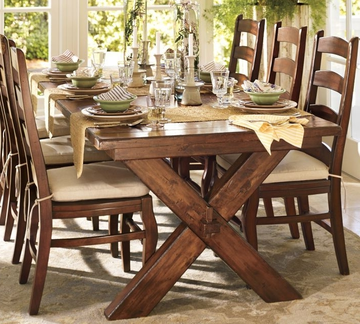 Famous Why You Should Always Listen To Pottery Barn (A Bench Story Throughout Toscana Dining Tables (View 3 of 20)