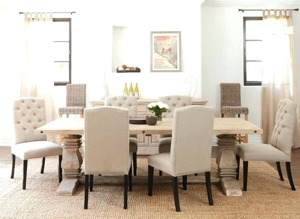 Fancy Dining Room Chairs Dining Chair Sets Of 6 Dining Room Chairs Within Well Known Cream Dining Tables And Chairs (View 13 of 20)