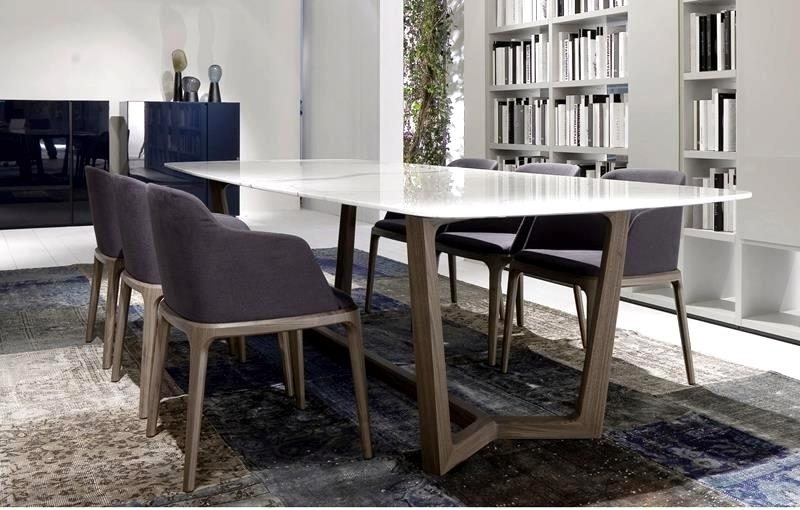 Fantastic Contemporary Dining Tables Sleek Ideas Sleek Contemporary With Trendy Sleek Dining Tables (View 5 of 20)