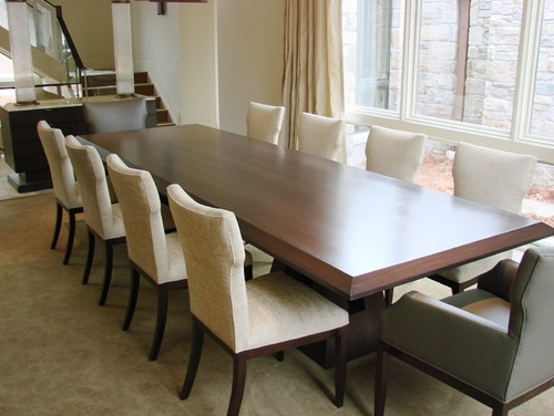 Fashionable 10 Seat Dining Tables And Chairs With 10 Seater Dining Table Elegant Elegant Dining Table Seats 10 Dining (View 2 of 20)