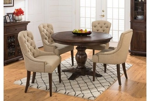 Fashionable 5 Piece Round Dining Set Home Design And Ideas (View 11 of 20)