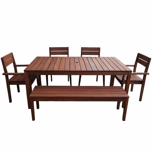 Fashionable 8 Seat Outdoor Dining Tables Intended For 8 Seater Outdoor Dining Table Set (View 13 of 20)