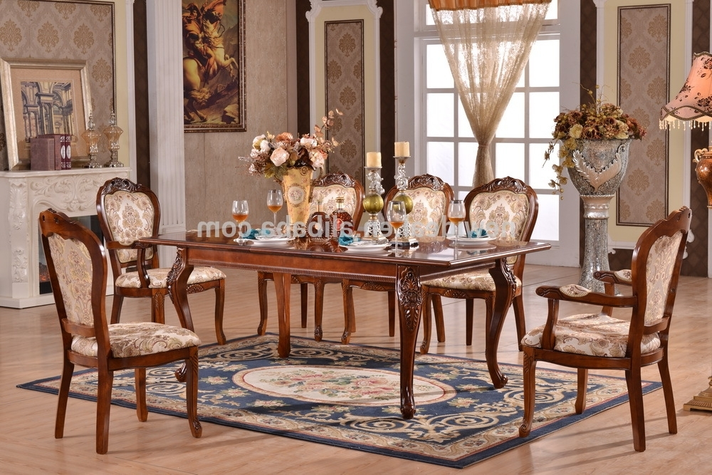 Fashionable 8 Seater Extendable Dining Table Set Modern (ng2882 & Ng2635a Within 8 Seater Dining Tables And Chairs (View 19 of 20)
