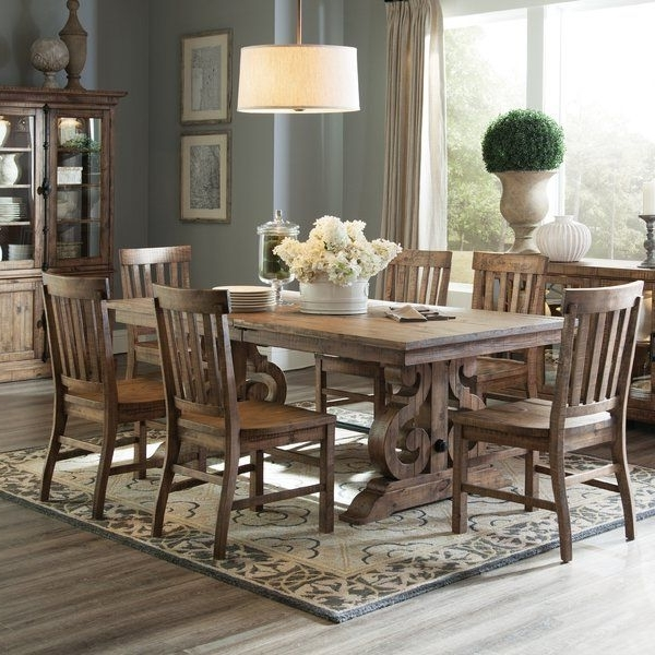 Fashionable Artisanal Dining Tables Intended For Lend A Touch Of Artisanal Inspiration To Your Dining Arrangement (View 4 of 20)
