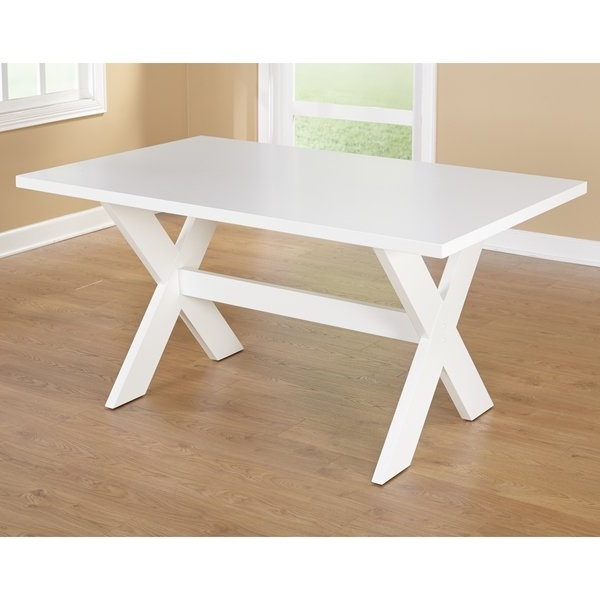 """Fashionable Bale Rustic Grey Dining Tables Throughout Shop Simple Living Sumner Dining Table – 29.75""""h X 35.5""""w X  (View 11 of 20)"""
