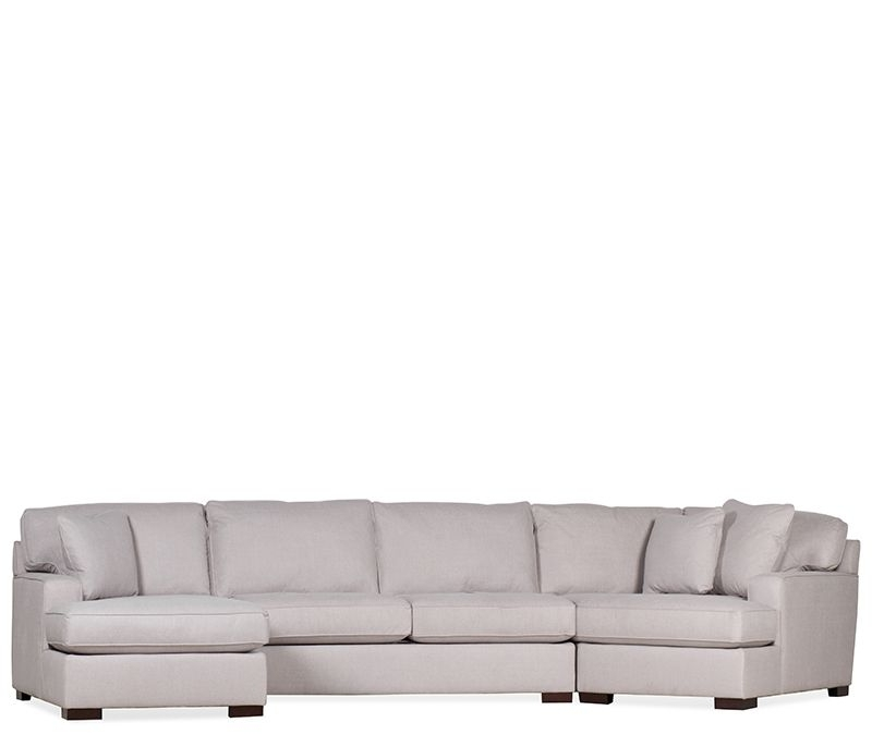 Fashionable Bedford Sectional With Cuddler – Cuddle Up In The Bedford Sectional Throughout Norfolk Chocolate 3 Piece Sectionals With Laf Chaise (View 8 of 15)