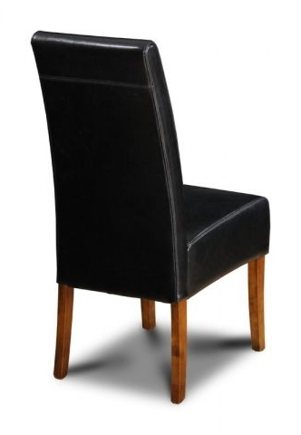Fashionable Brown Leather Dining Chairs Intended For Brown Leather Dining Chair From The Uk (View 7 of 20)