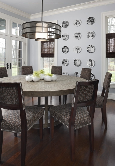 Fashionable Chapleau Ii 9 Piece Extension Dining Tables With Side Chairs Intended For Brookdale Nook – Contemporary – Dining Room – Detroit Amw (View 18 of 20)