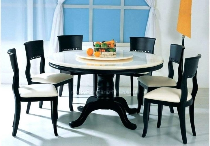 Fashionable Cheap 6 Seater Dining Table And Chairs Tables Round Interior Design Within Round 6 Seater Dining Tables (View 3 of 20)