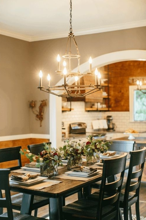 Fashionable Chip And Joanne's Transformed Dinning Room (View 7 of 20)