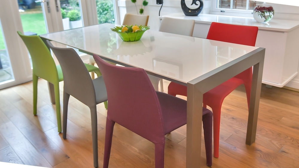 Fashionable Colourful Dining Tables And Chairs Regarding  (View 10 of 20)