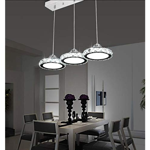 Fashionable Dining Tables Ceiling Lights With Regard To Dining Table Pendant Lights: Amazon.co (View 17 of 20)