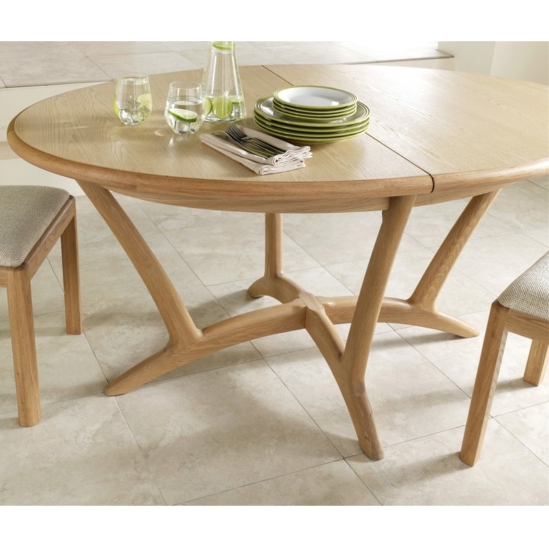 Fashionable Extending Dining Tables Pertaining To Stockholm Oval Extending Dining Table – Winsor Furniture Wn218 – The (View 10 of 20)