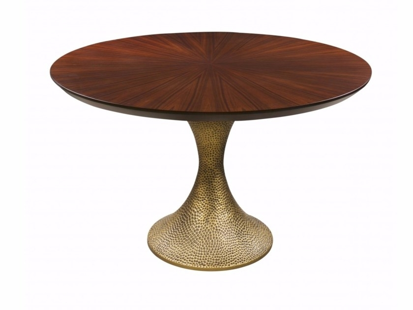 Fashionable Inès Hammered Dininghamilton Conte Paris Pertaining To Hamilton Dining Tables (View 5 of 20)
