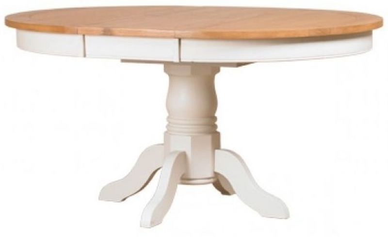 Fashionable Lazio Painted 113Cm 153Cm Round Extending Dining Table Inside Lazio Dining Tables (View 17 of 20)