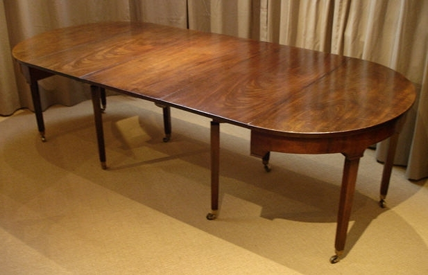 Fashionable Mahogany Extending Dining Tables Throughout Dining Table / Antique Mahogany Extending Table : Antique Dining (View 5 of 20)