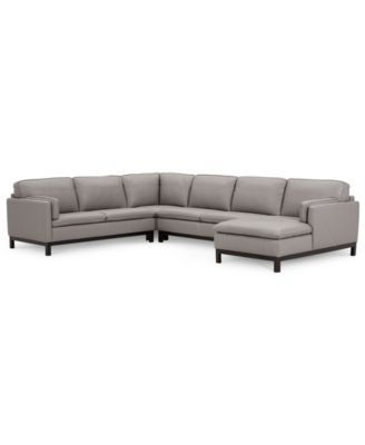 Fashionable Marcus Oyster 6 Piece Sectionals With Power Headrest And Usb With Regard To Closeout! Ventroso 4 Pc (View 3 of 15)