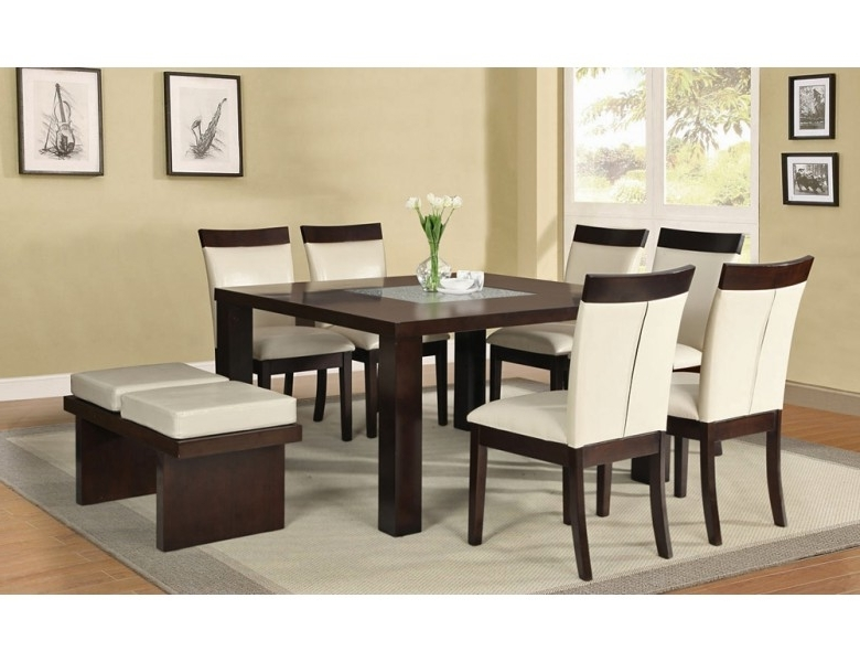 Fashionable Marino Square Dining Table Set With Square Dining Tables (View 5 of 20)