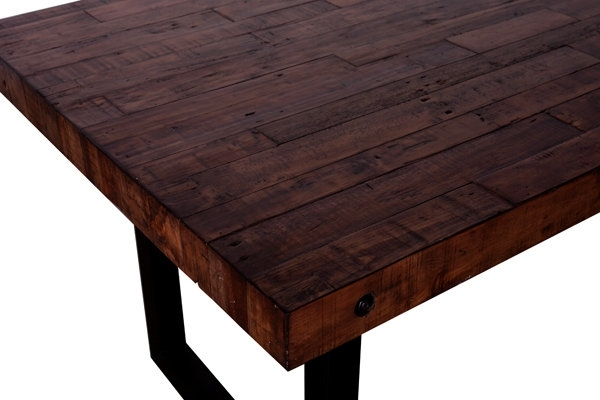 "Fashionable New York Regular Dining Table 72"" – Coffee Bean – Boulevard Urban Living Intended For New York Dining Tables (View 4 of 20)"
