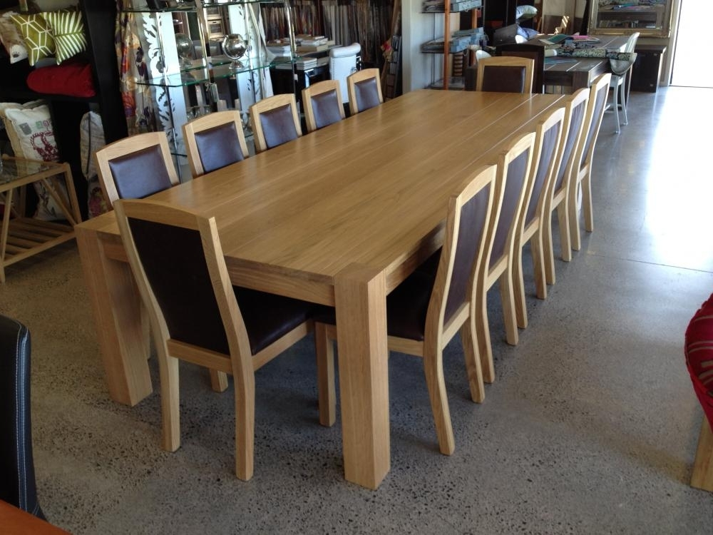 Fashionable Oak Dining Suites Within Custom Made Dining Tables & Chairs Tauranga, Hamilton, Auckland (View 5 of 20)