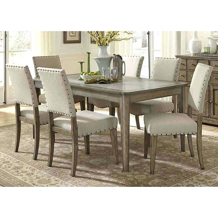 Fashionable Partridge 7 Piece Dining Sets For Decoration: 7 Piece Dining Set (View 7 of 20)