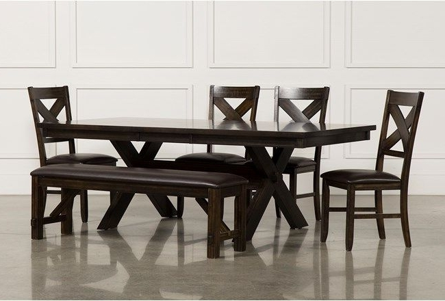 Fashionable Pelennor 6 Piece Extension Dining Set (View 2 of 20)