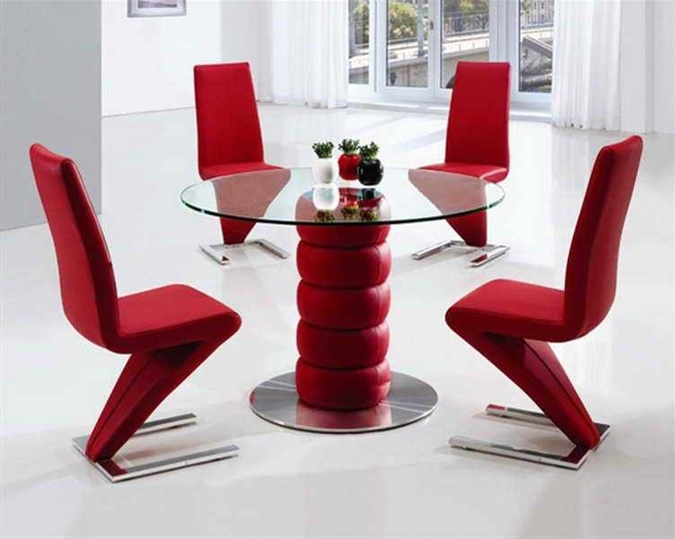 Fashionable Red Dining Tables And Chairs Inside Red Dining Table Set – Castrophotos (View 4 of 20)
