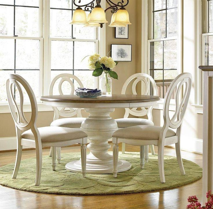 Fashionable Round Extending Dining Table Sets Elegant Incredible Round White For Round Extending Dining Tables Sets (View 4 of 20)