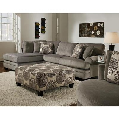 Fashionable Sectionals At Stanley's Home Furnishings Intended For Norfolk Chocolate 3 Piece Sectionals With Raf Chaise (View 4 of 15)