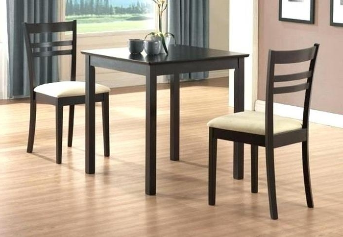 Fashionable Small Two Person Dining Tables Inside  (View 5 of 20)