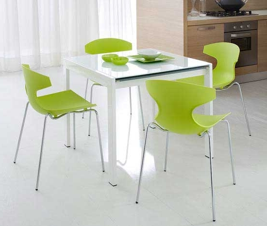Fashionable Small White Dining Tables Regarding Unique Small White Dining Table And Chairs Amazing Small Dining (View 9 of 20)