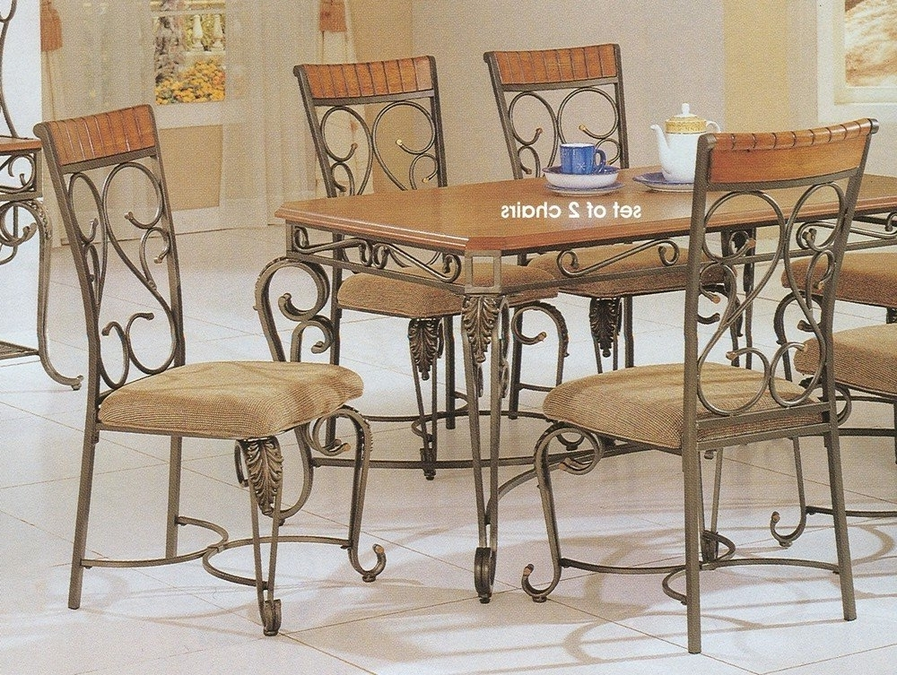 Fashionable Smartie Dining Tables And Chairs Throughout 5 Best Metal Dining Chairs Durable Metal Sets Tool Box Dining Room (View 4 of 20)