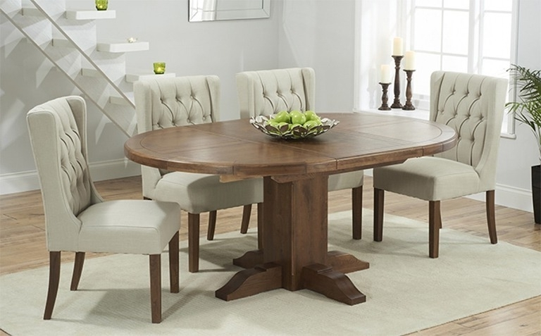 Fashionable The Different Types Of Dining Table And Chairs – Home Decor Ideas Inside Round Extending Dining Tables And Chairs (View 4 of 20)