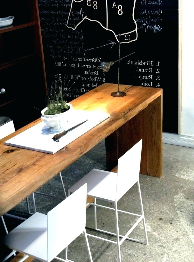 Fashionable Thin Long Dining Tables Within Narrow Dining Table Ikea Narrow Dining Table Narrow Dining Room (View 5 of 20)