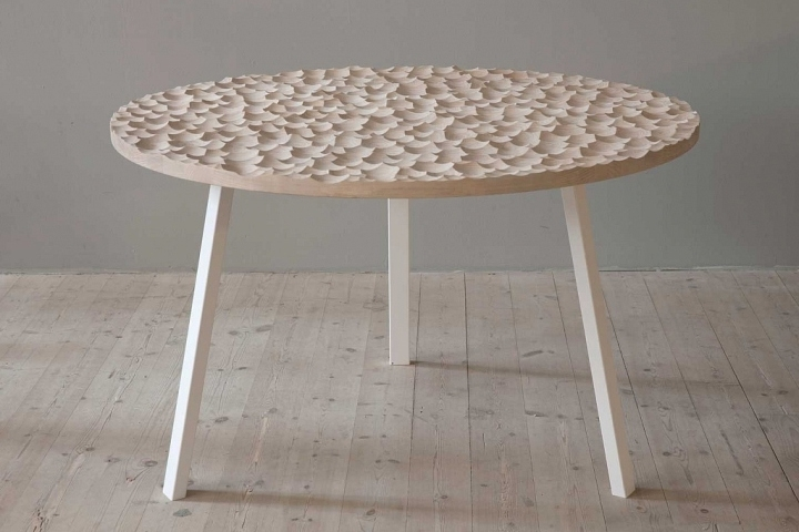 Fashionable Umami Dining Tablesofia Almqvist Within Cork Dining Tables (View 5 of 20)