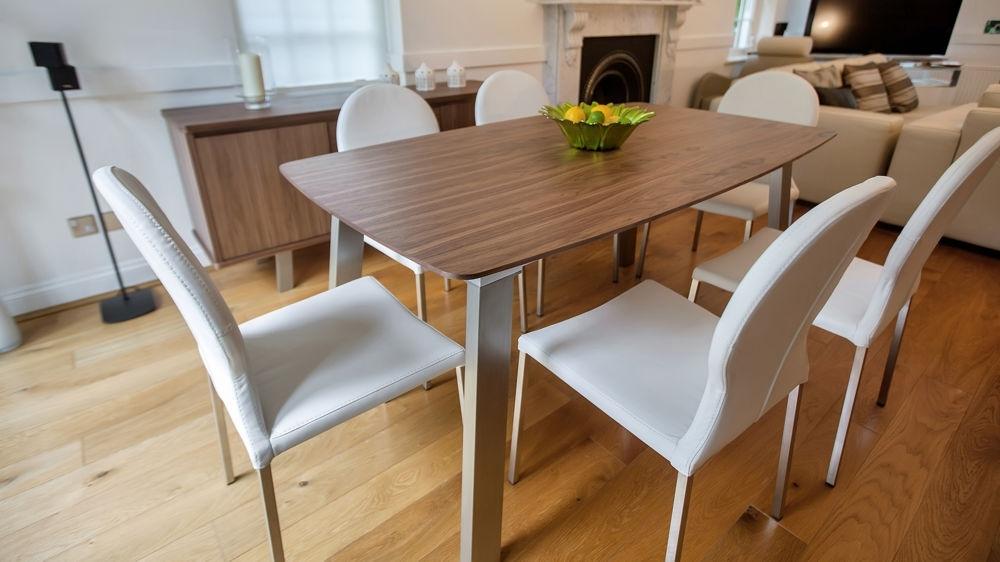 Fashionable Walnut Dining Table Sets Throughout Walnut Dining Table Sets – Castrophotos (View 6 of 20)
