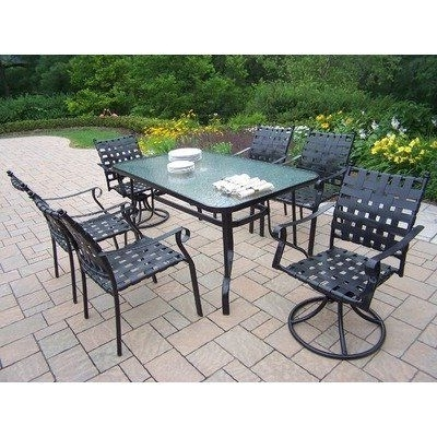 Favorite 67 Best Patio Furniture & Accessories – Patio Furniture Sets Images For Helms 6 Piece Rectangle Dining Sets (View 19 of 20)