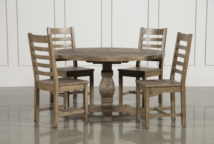 Favorite Candice Ii 5 Piece Round Dining Sets Throughout  (View 12 of 20)