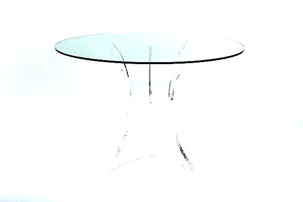 Favorite Clear Acrylic Dining Table And Chairs Uk Perspex Round Base With Acrylic Round Dining Tables (View 10 of 20)
